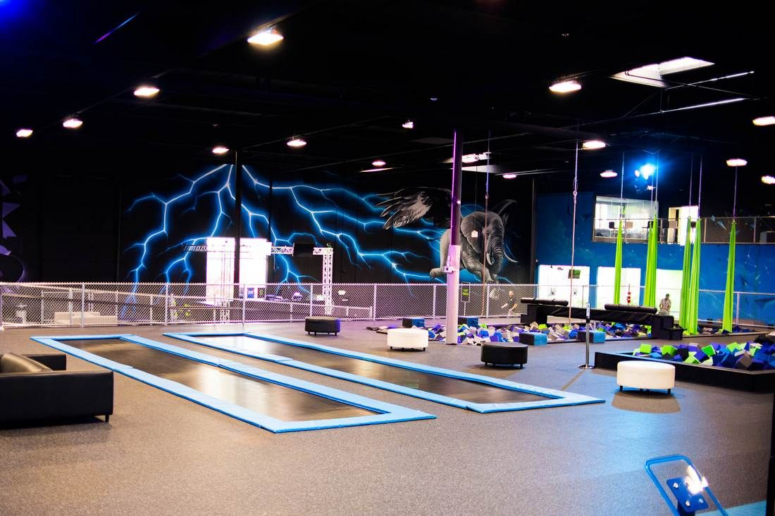 Flying Circus Extreme Air Sports Trampoline Park in