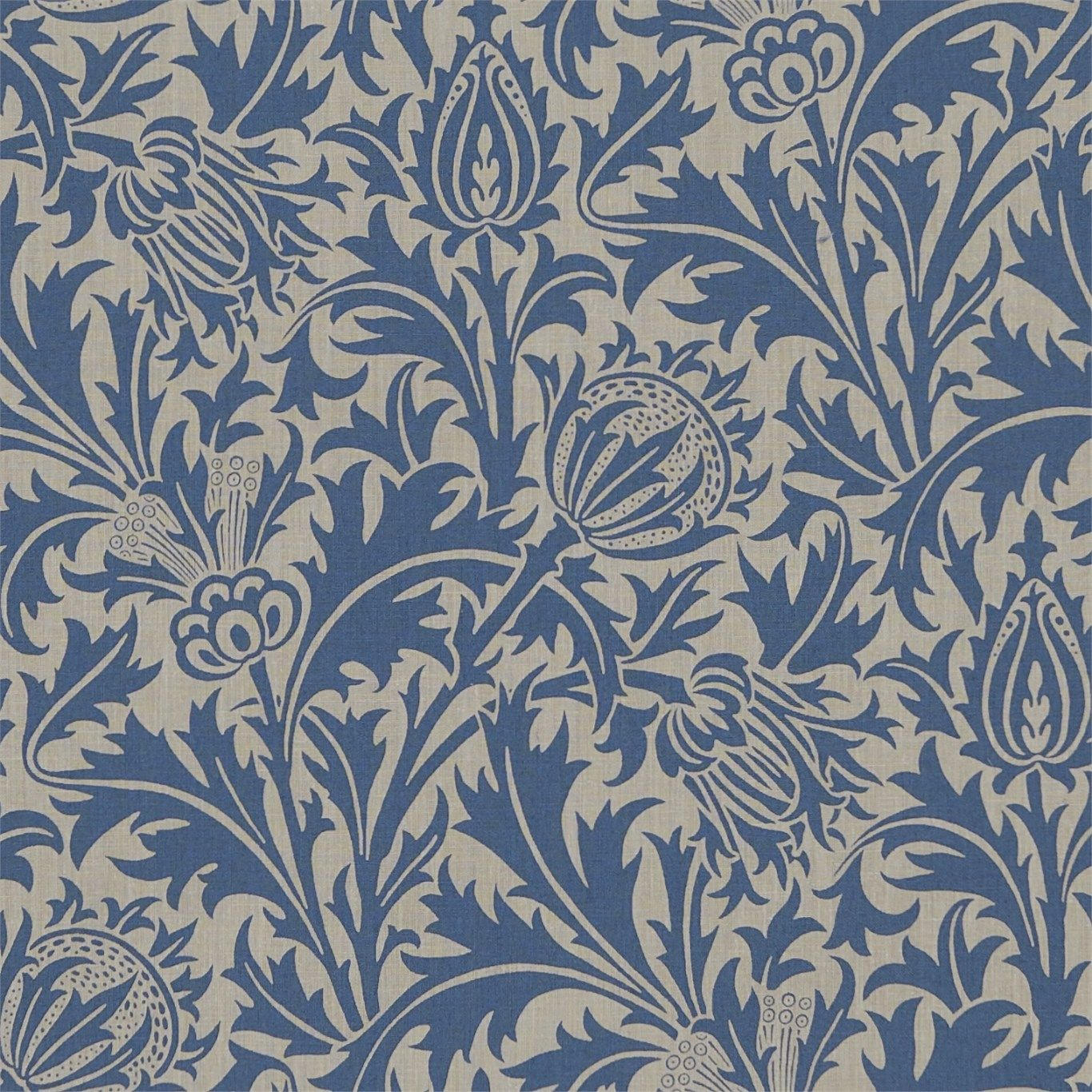 The Original Morris Co Arts And Crafts Fabrics And Wallpaper Designs By William Morris Comp Thistle Wallpaper William Morris Wallpaper Morris Wallpapers
