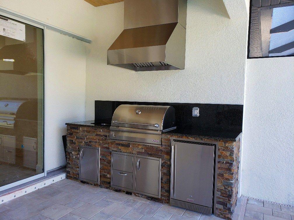 Uba Tuba Granite Kitchen Granite Kitchen Uba Tuba Granite Outdoor Kitchen