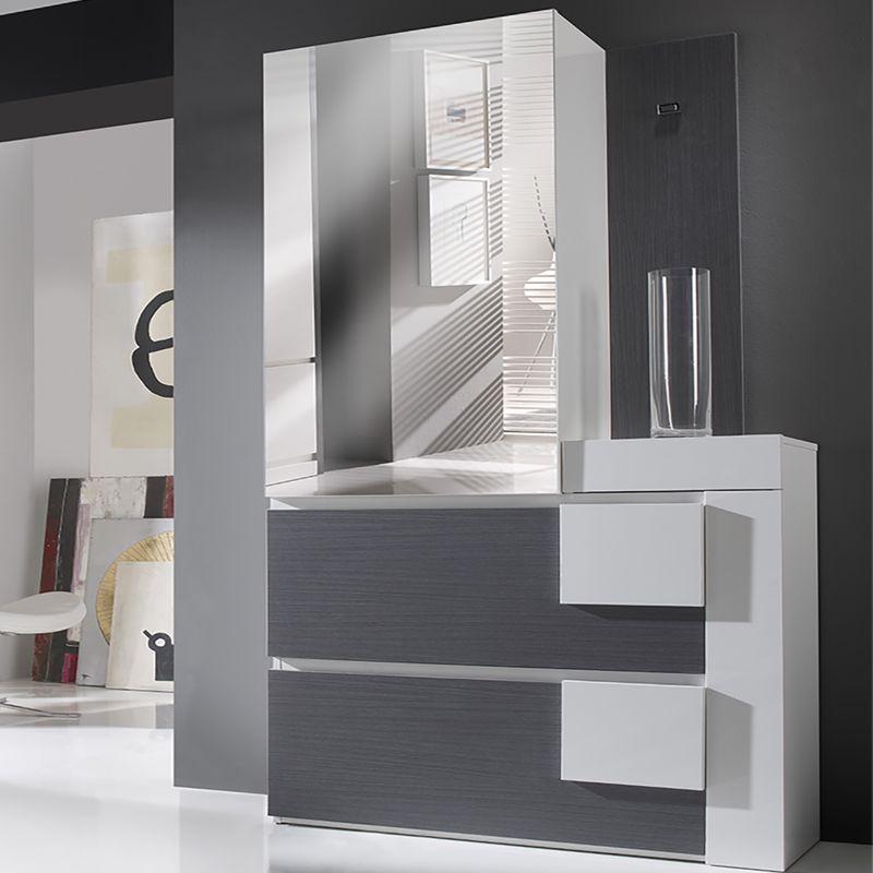 Meuble A Chaussures Avec Miroir Moderne Levy Meuble Rangement Meuble Chaussure Meuble A Chaussure Blanc