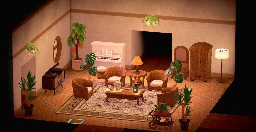 Living room design! : AnimalCrossing in 2020 | New animal ... on Animal Crossing New Horizon Living Room Ideas  id=47735