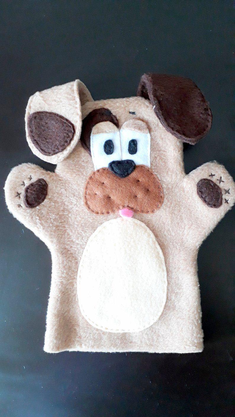 Hand puppets 6 pieces #handpuppets