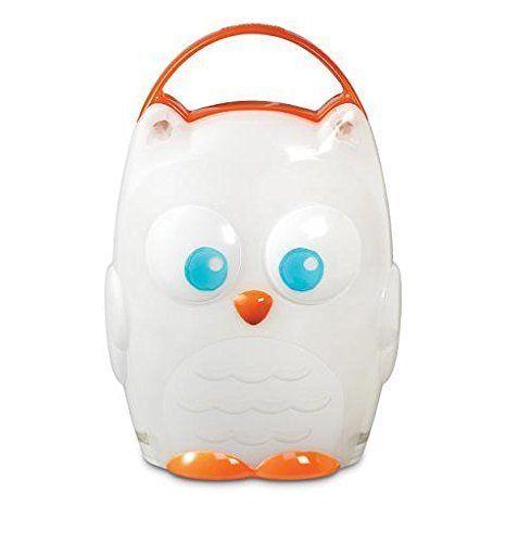 Kids Night Light Owl Portable Battery Glow Bedtime Led