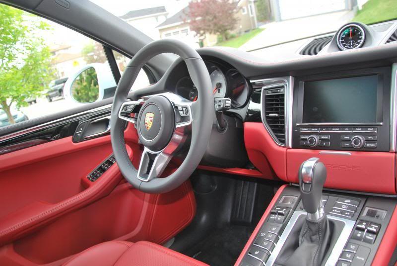Red interior porsche macan red interiors porsche red - Porsche macan white with red interior ...