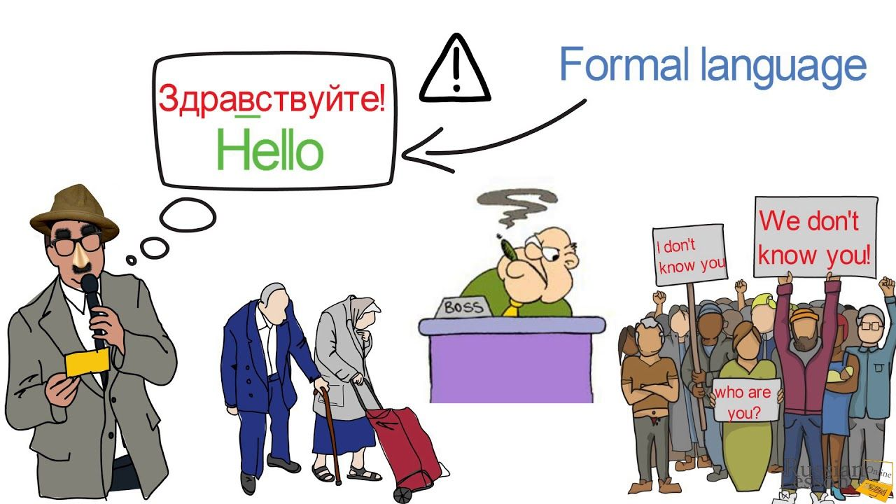 Common Greetings How To Say Hello In Russian How To Say Hello In