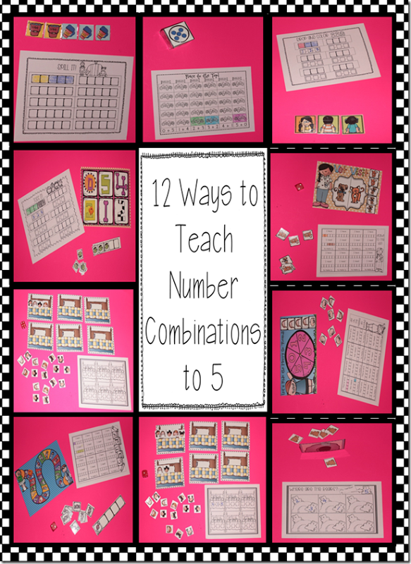 12 ways to teach number combinations to 5 | KinderLand Collaborative