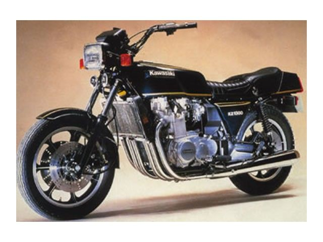 Kawasaki Z1300 Inline 6 Cylinder Motorcycles Motorcycle