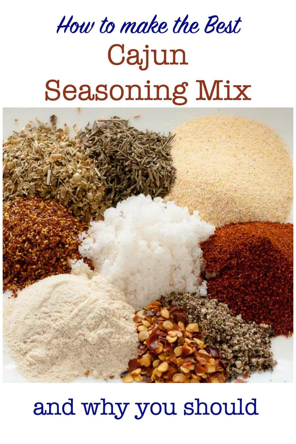 How to Make Cajun Seasoning Mix - Flavour and Savour