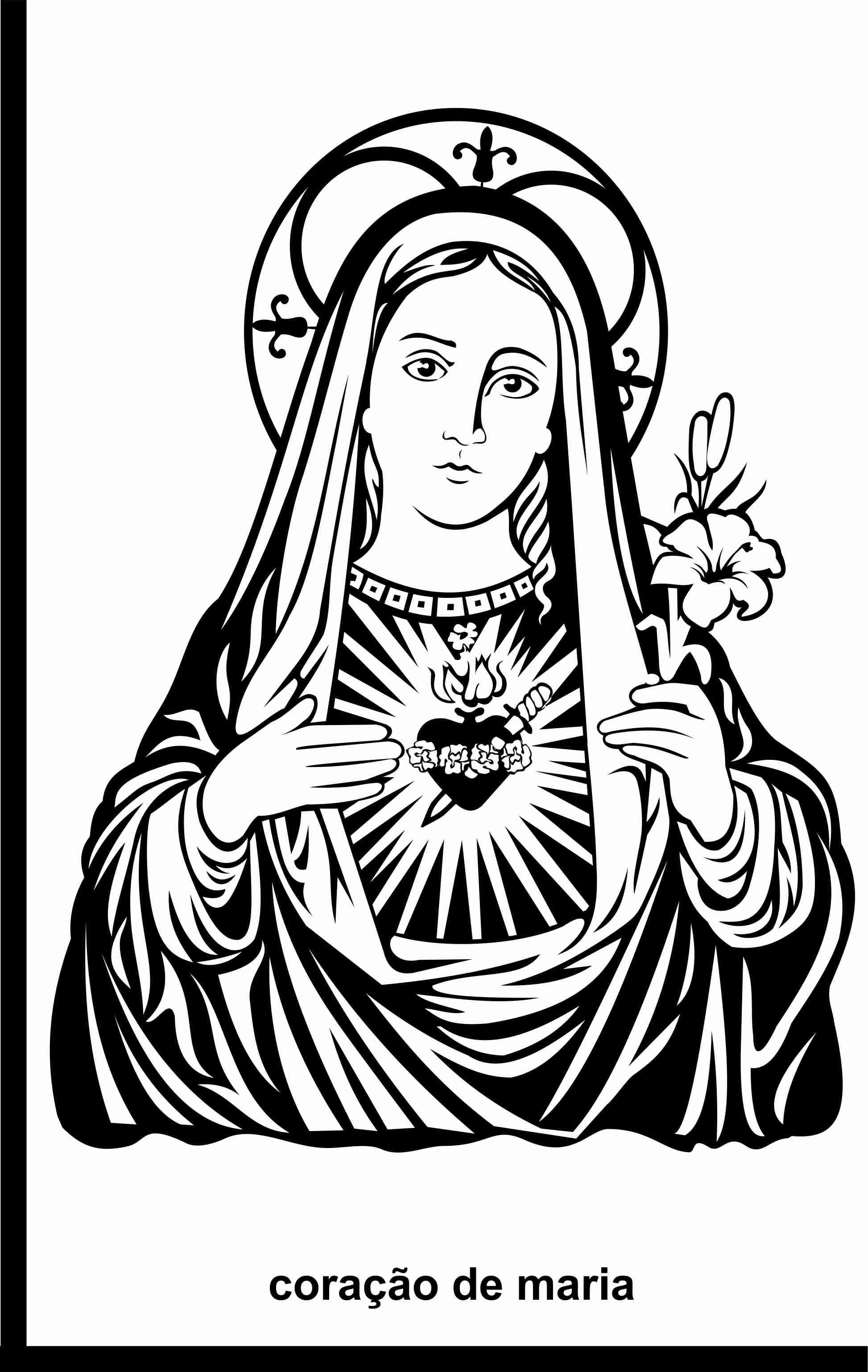 Cora 231 227 O De Maria Vetorizado By Renzo Imagens Vetorias