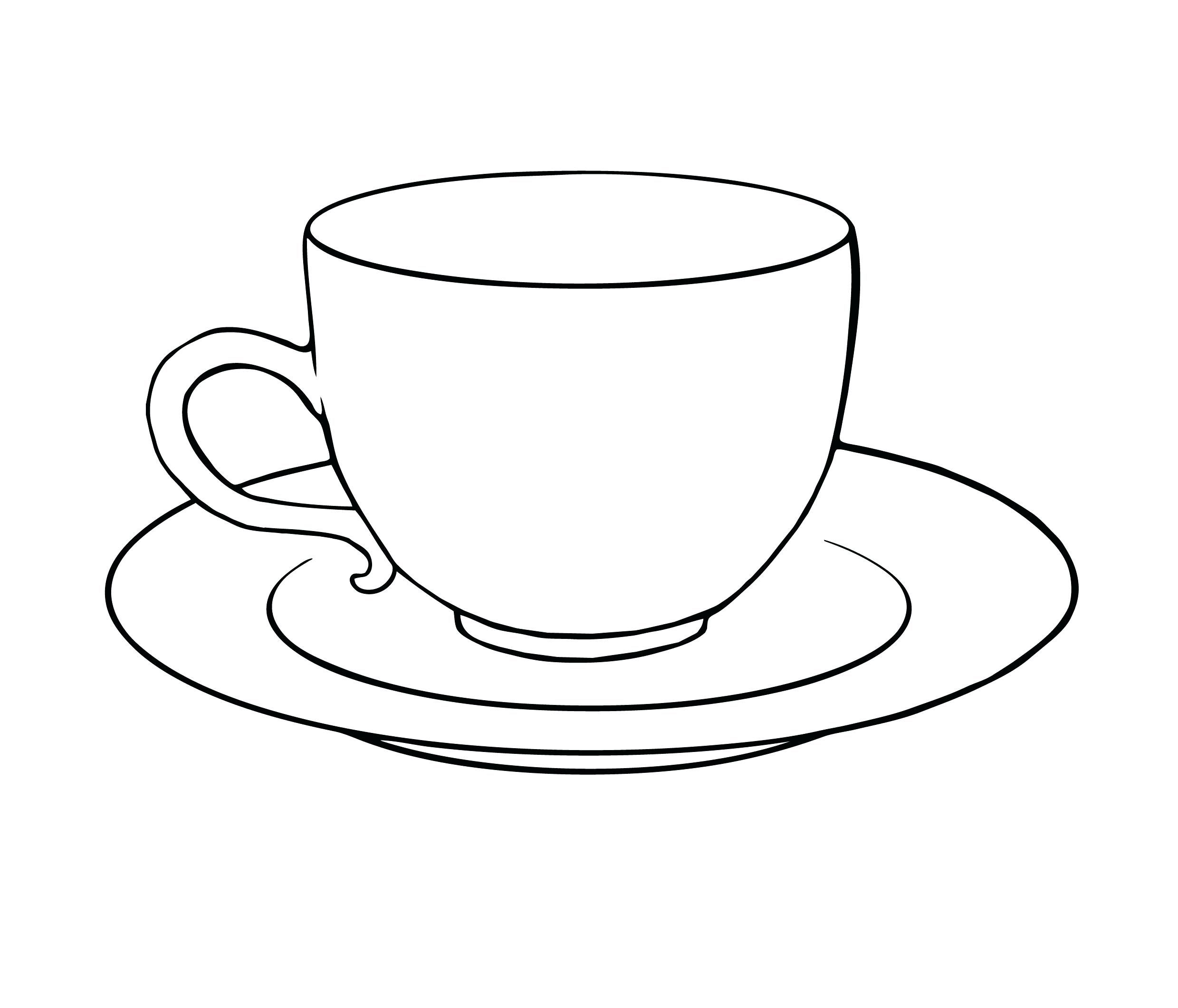 Coffee Mug Coloring Page 2019 Http Www Wallpaperartdesignhd Us Coffee Mug Coloring Page 2019 48442 Tea Cup Drawing Tea Cups Teacup Tattoo