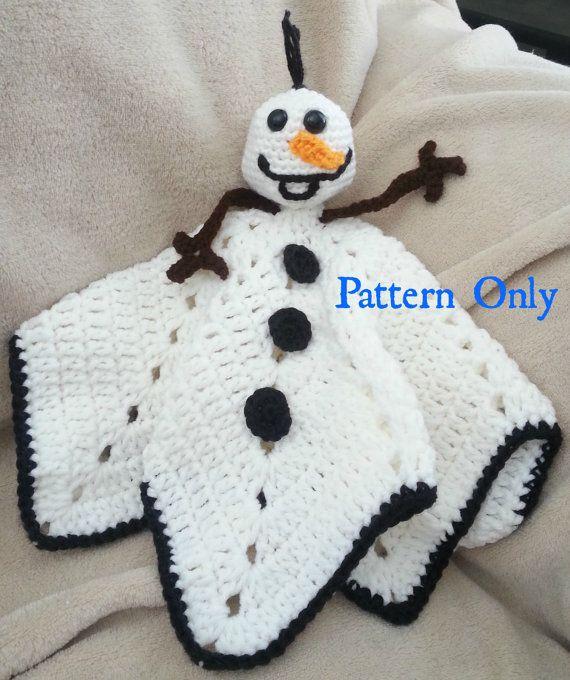 PATTERN: Instant download--Crochet Olaf the snowman from Frozen ...