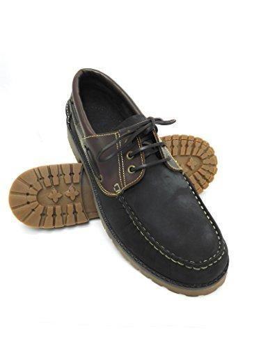 Ofertas De Zapato Para Caballeros Nautico De Piel Con Suela De Goma Flexible 100 Piel De Primera Calidad Tallas Grandes Xxl De La 47 Zapatos Comprar Zapatos Tallas Grandes