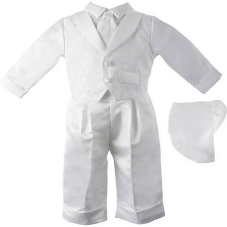 84b7bd484418 Christening Baptism Newborn Baby Boy Special Occasion 3 Pc Boys ...