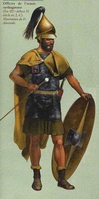 officier de l'armée carthaginoise