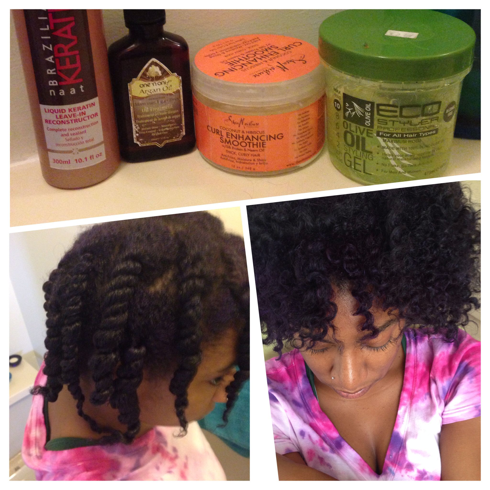 3c 4a Natural Hair Curly Routine Loc Method Leave In Argon Oil
