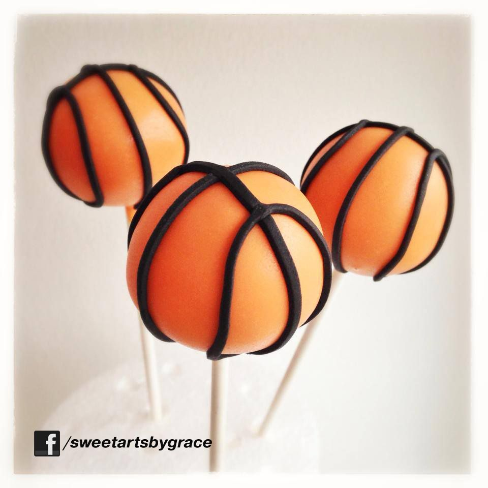 Basketball cakepop sweet tortendekorieren cake pops geburtstag geburt - Cake pops 50 geburtstag ...