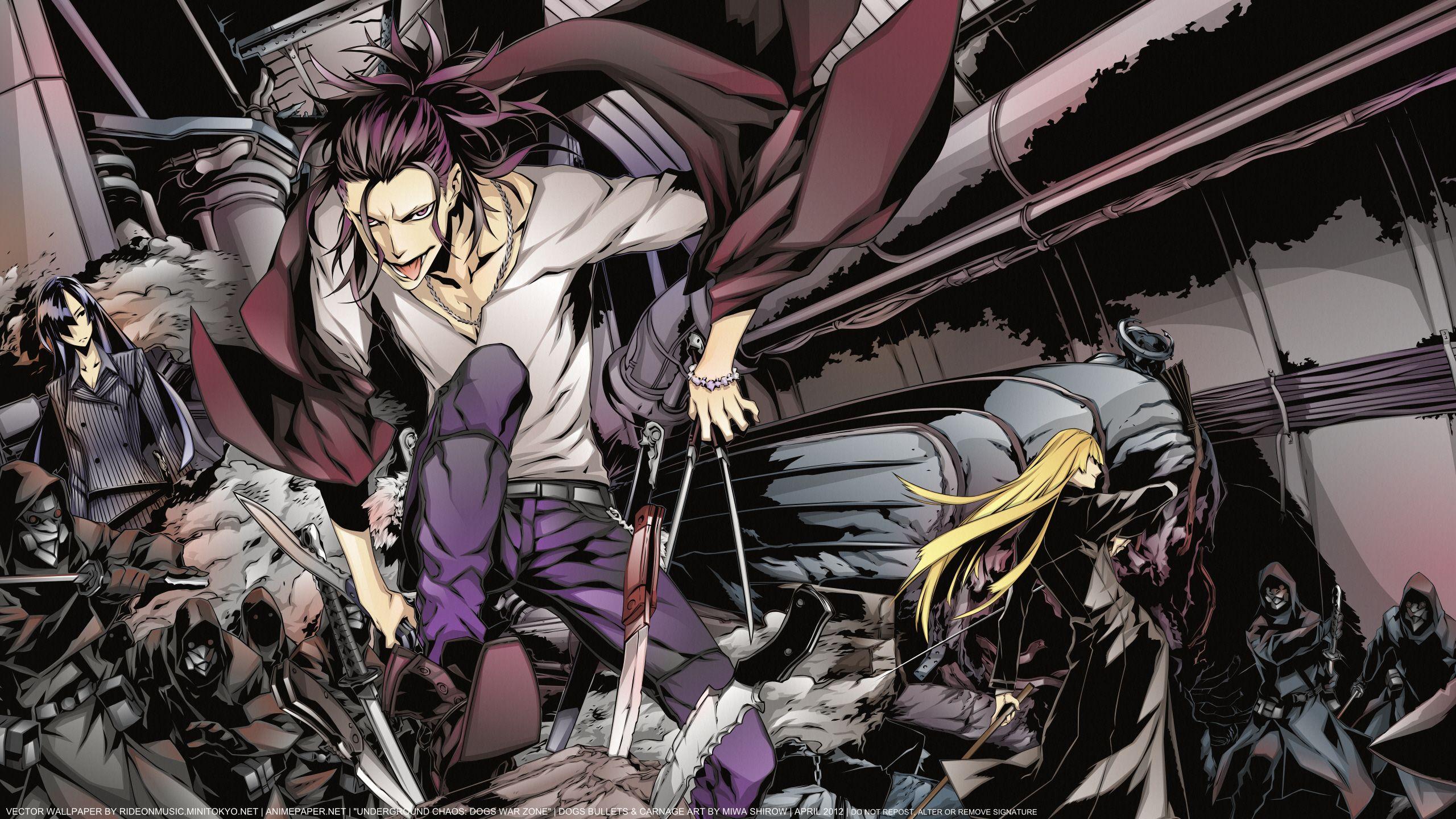Dogs Bullets and Carnage Mangaka Miwa Shirow Characters