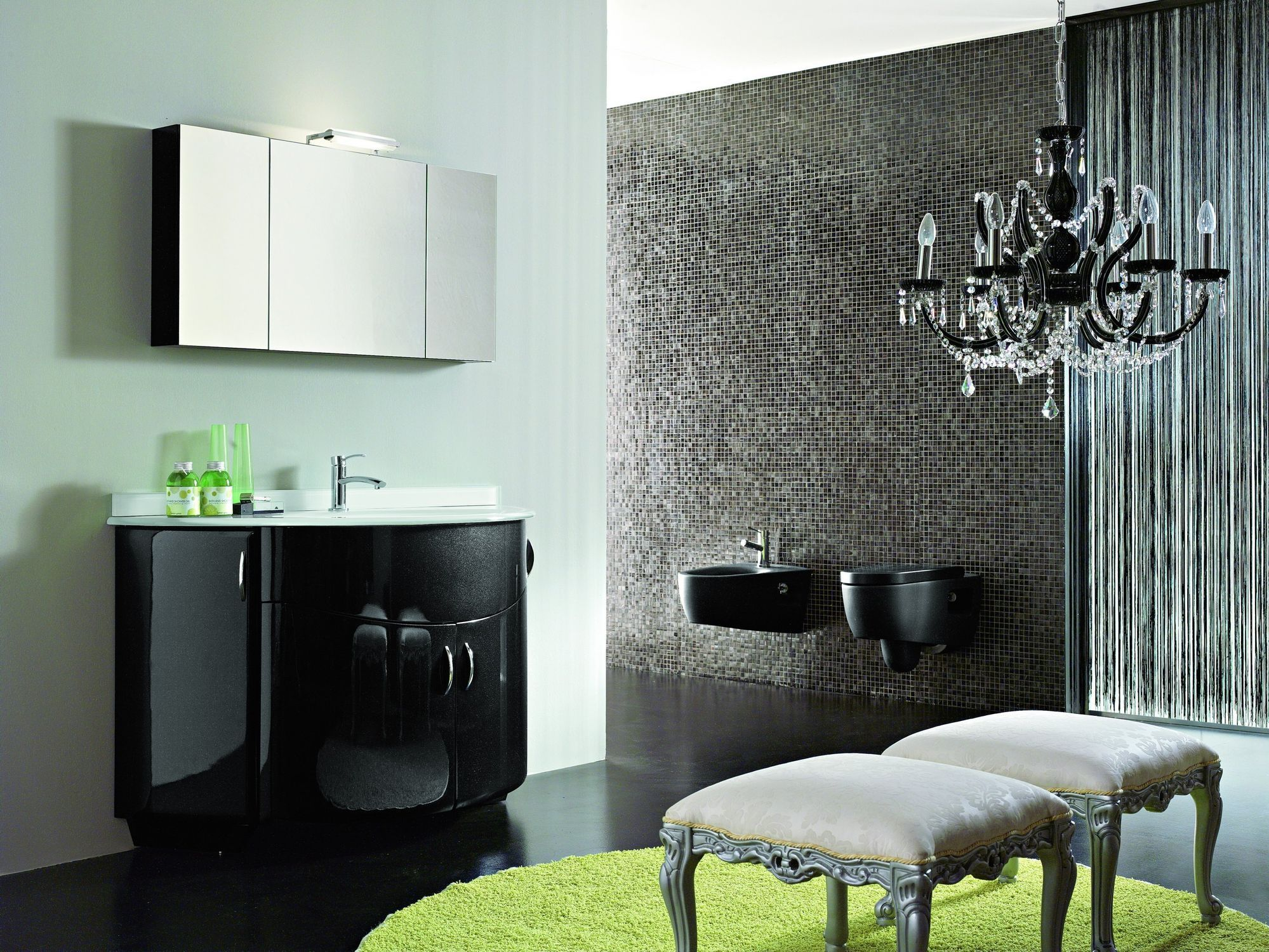 Bathroom Elegant Bathroom Vanity With Linen Tower And Red Wall - Small bathroom tower for small bathroom ideas