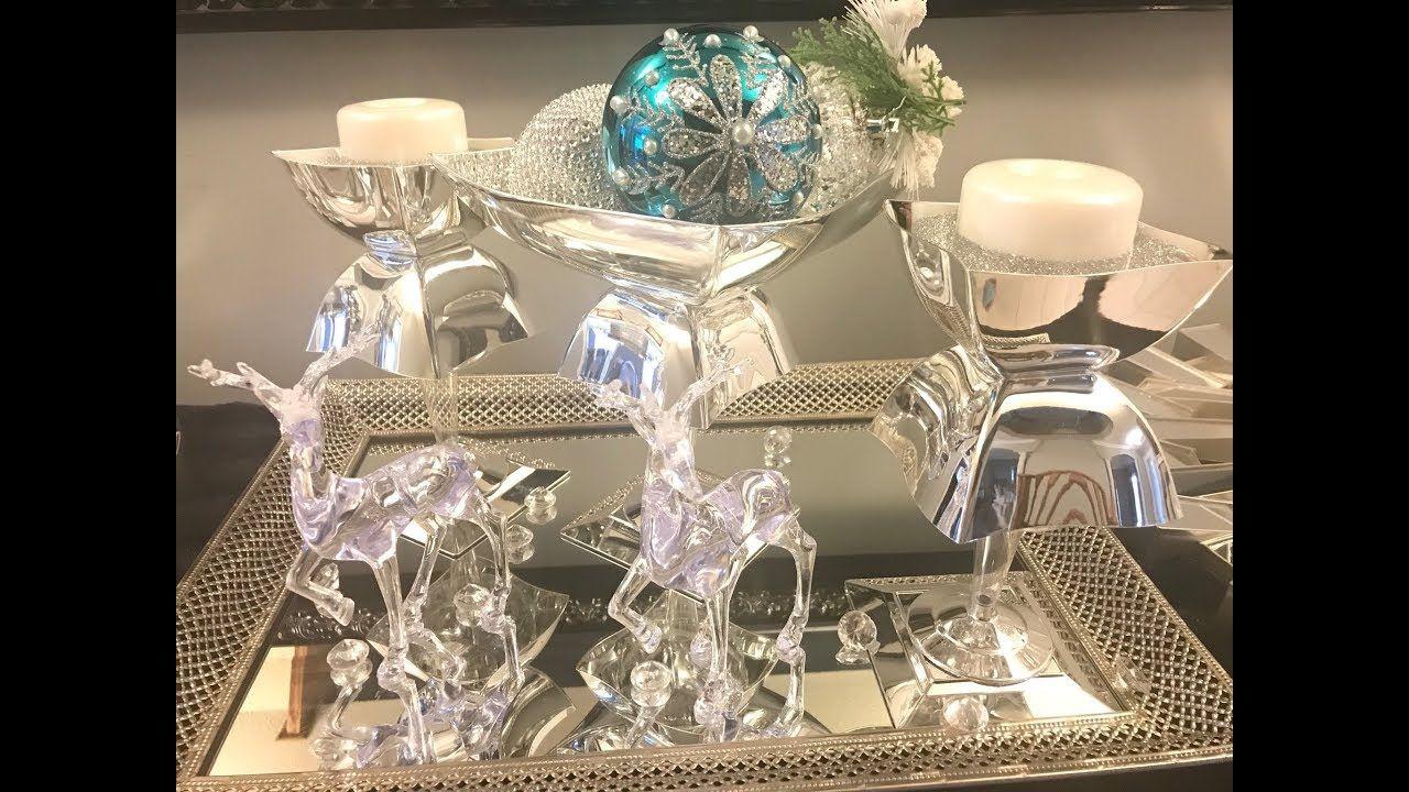 Dollar Tree Diy Glam Candle Holder Christmas Diy Series