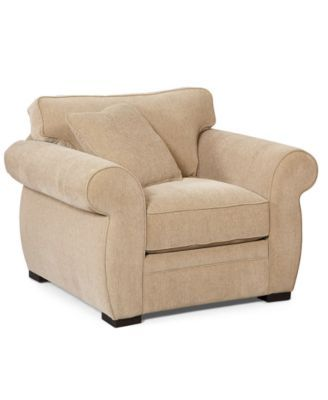 Devon Fabric Arm Chair 47w X 38d X 29h Chairs Recliners