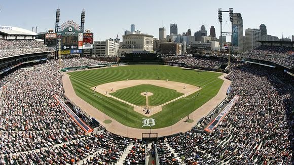Comerica Park Seating Chart, Pictures, Directions, and ...