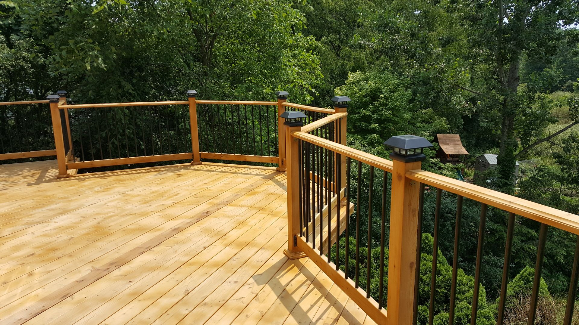 Deck Balusters For Deck Railing Deck Balusters Wood Deck Railing Deck Railing Design