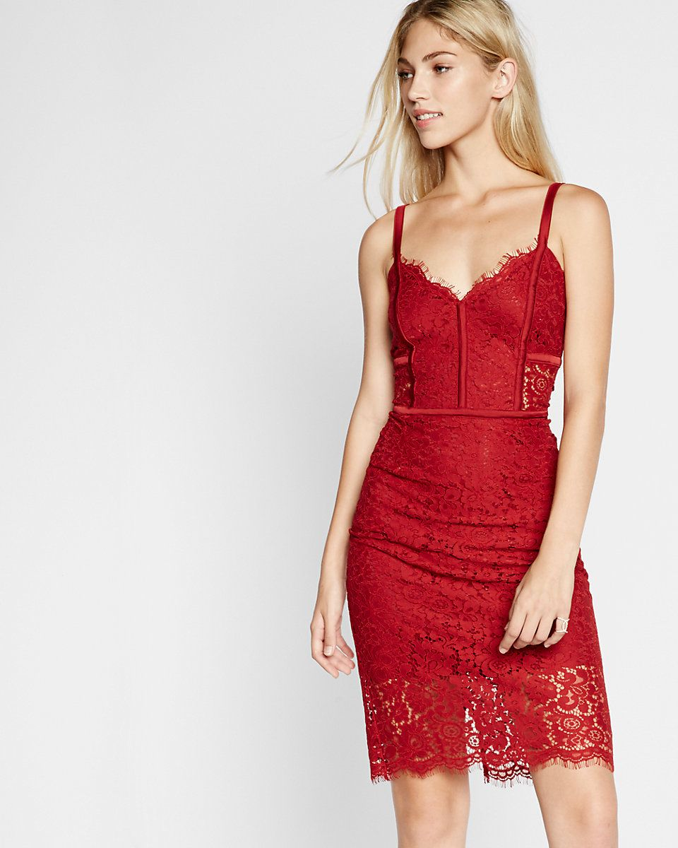 piped lace sheath dress, 30% off online. | GetInMyCloset | Pinterest