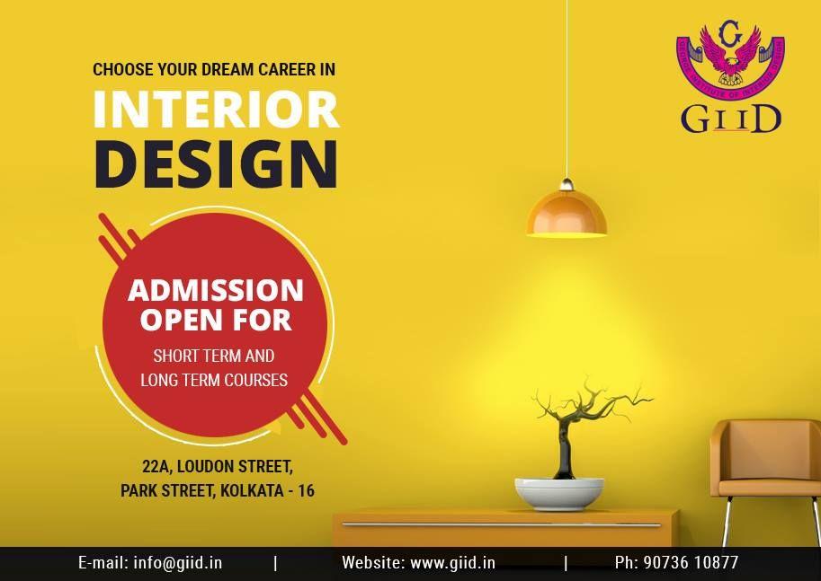 interior designer job in kolkata admission