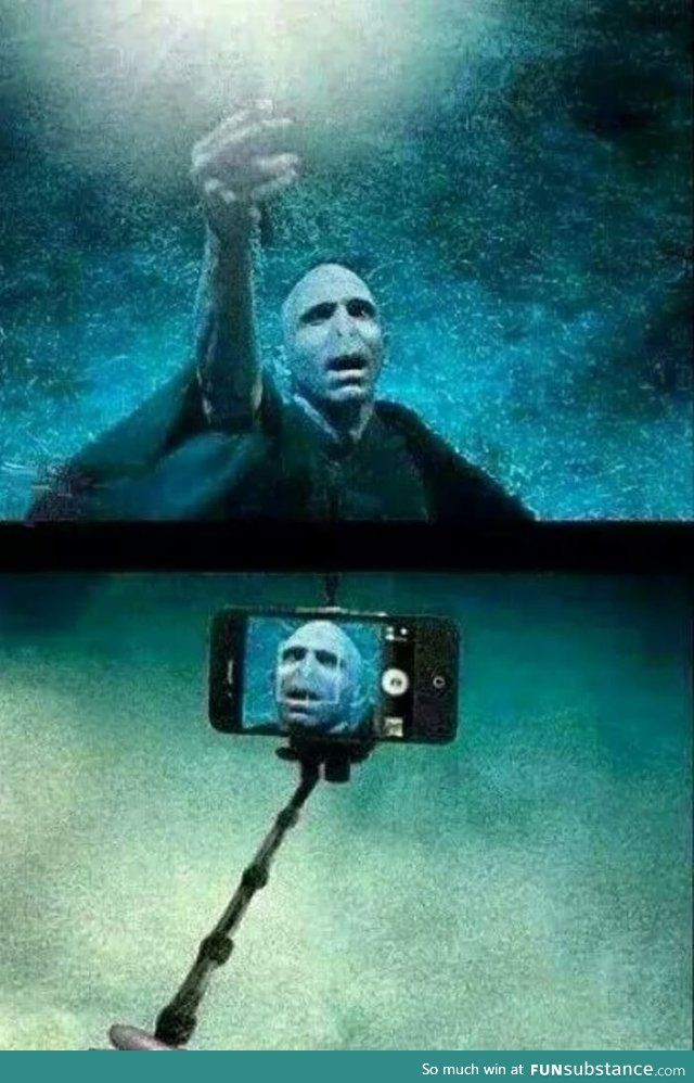 But first, let me take a selfie - FunSubstance
