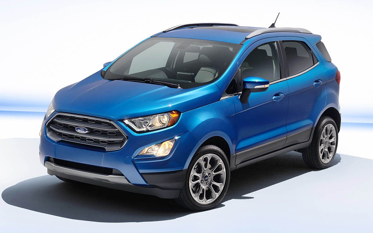 2019 Ford Ecosport Compact Suv New Styling And Platform Http Www 2017carscomingout Com 2019 Ford Ecosport Compact Suv Ford Ecosport 2019 Ford Ford