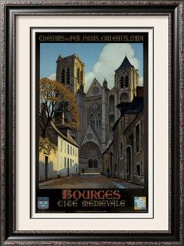 Bourges Giclee Print by Constant Leon Duval at Art.com