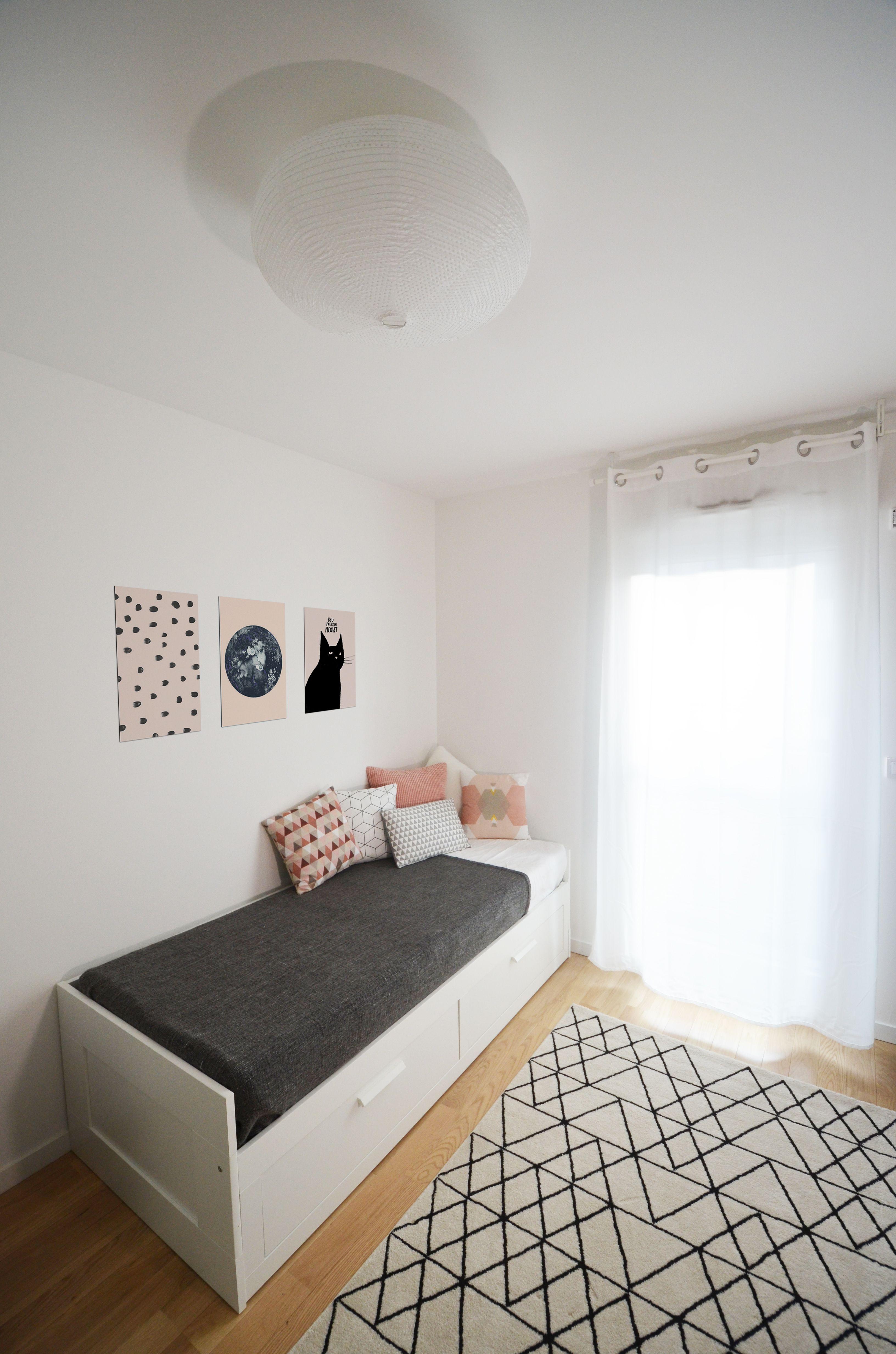 sandrine carr dcoratrice chambre chambre denfant scandinave coussin motif - Lit Scandinave Enfant