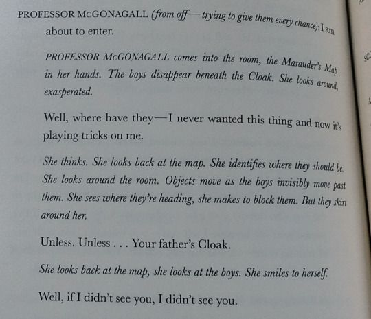 McGonagall and The Marauders´ Map - The Cursed Child