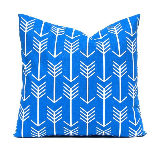 Cobalt Blue Pillow Covers Royal Pillows By Festivehomedecor