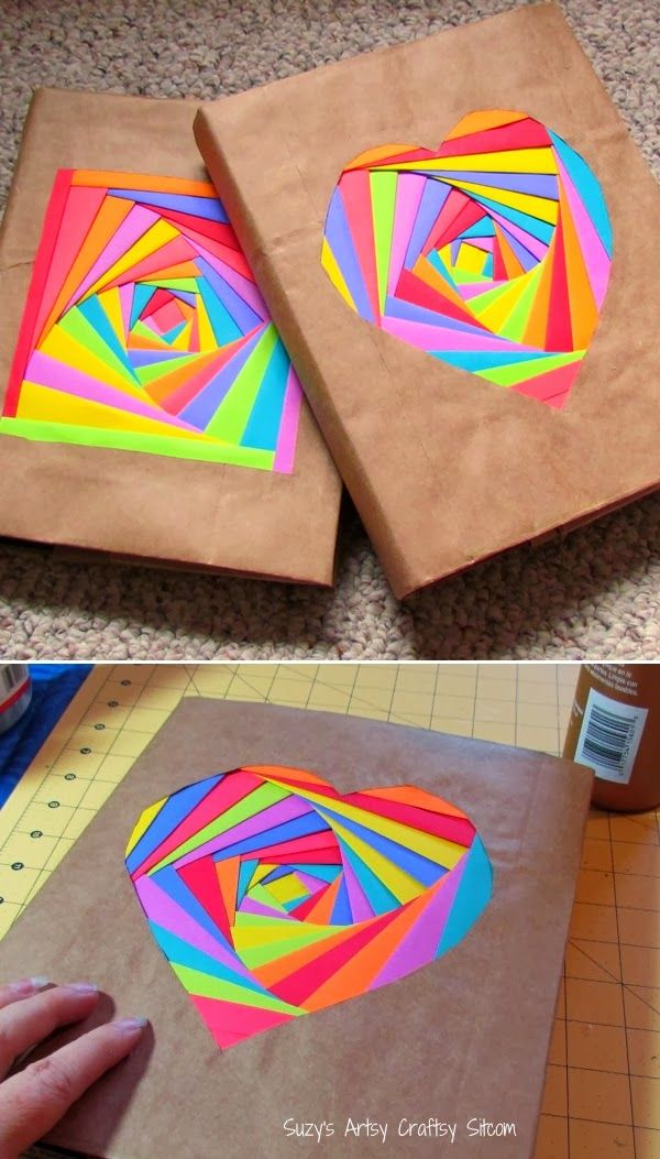 Diy Projects: Colorful Bookcovers Using Astrobright Paper