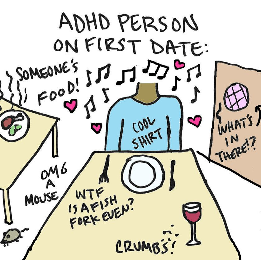 dating with adhd disorder