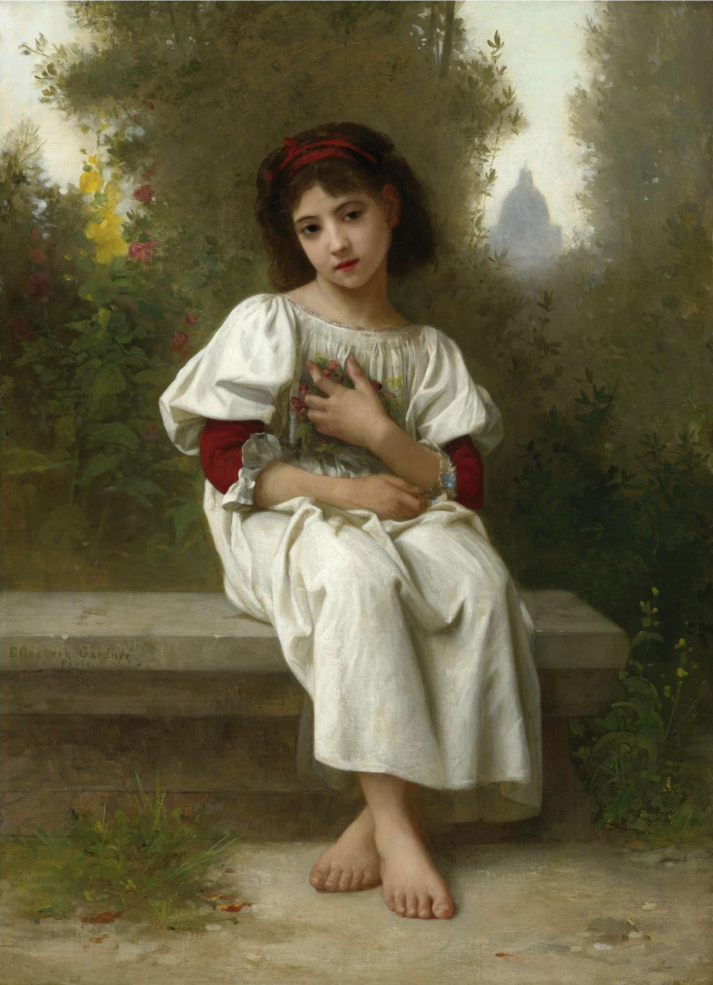 Whisperings of Love Painting by William-Adolphe Bouguereau