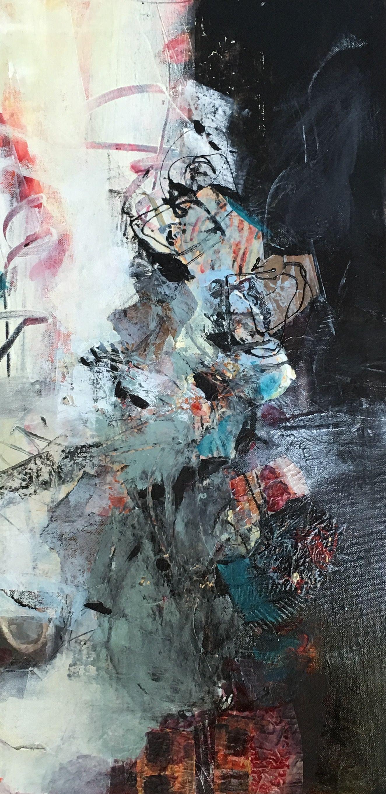 "New Painting ""Climbing"" Sue Jensen"