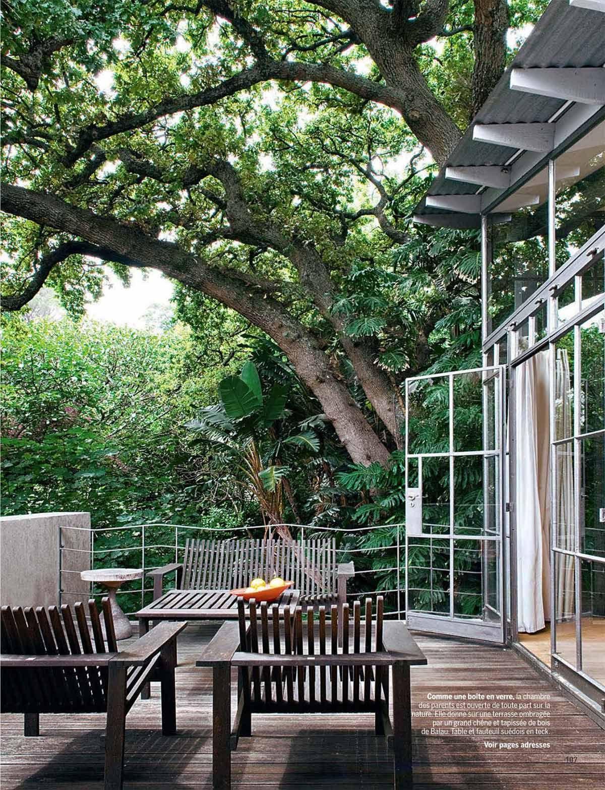 Une Maison Perchee Au Milieu Des Arbres Aux Cap Leben Unter Freiem Himmel Terassenideen Hintergarten