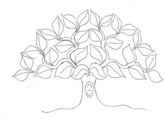 Free Pictures Of Family Tree Coloring Pages All About Free - Family tree coloring page