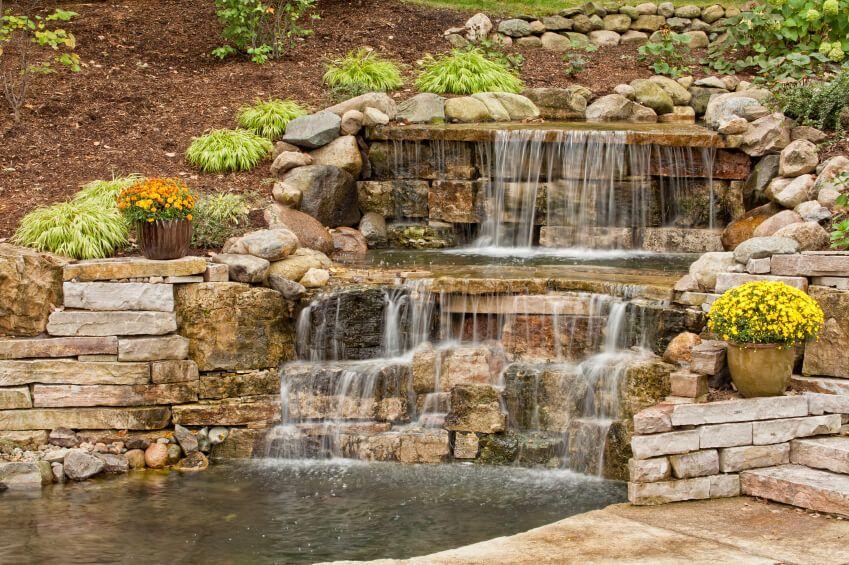 50 Pictures of Backyard Garden Waterfalls (Ideas & Designs ...