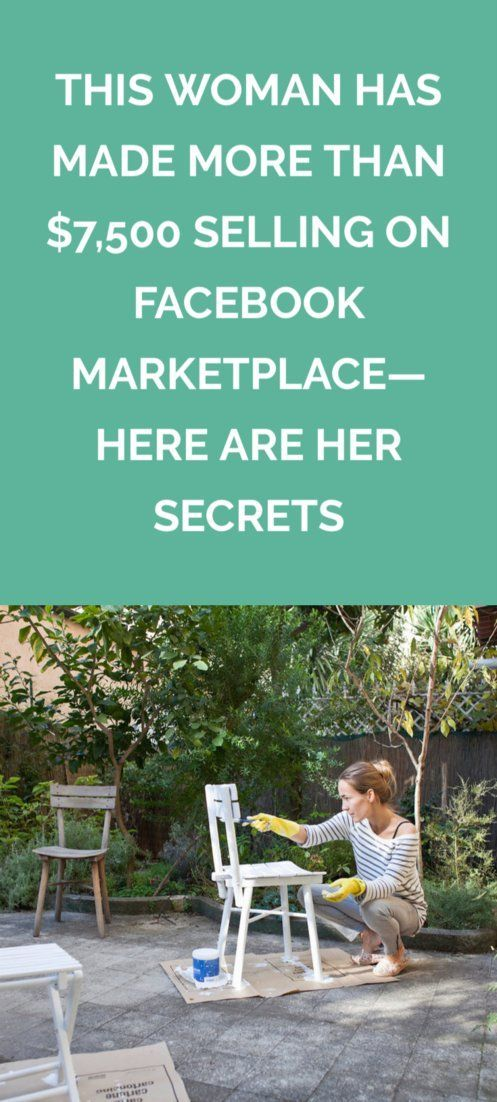 Woman Has Made More Than $7,500 Selling on Facebook Marketplace—Here Are Her Secrets This Woman Has Made More Than $7,500 Selling on Facebook Marketplace—Here Are Her Secrets | Making money by selling on Facebook Marketplace is easier than you might think, especially with these expert tips.Easier  Easier may refer to: