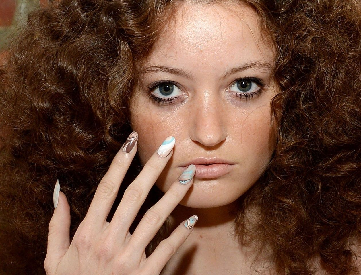 Nail Art na NYFW (Foto: Getty Images)