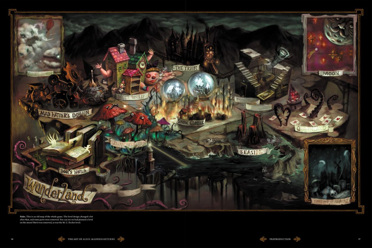 Wonderland From American Mcgee S Alice Madness Returns With