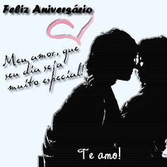 Feliz Aniversário Meu Amor Te Amo Felicidades Felizaniversario