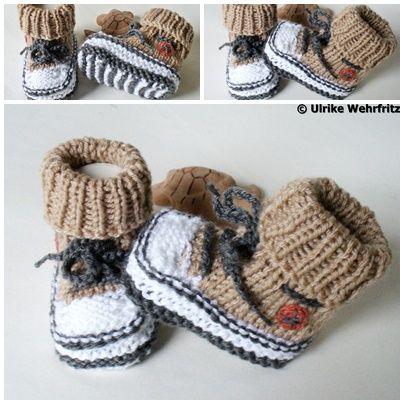 Babyschuhe Turnschuhe von strickliene