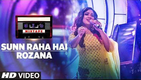 Sunn Raha Hai Rozana Lyrics Shreya Ghoshal Mixtape Cover Songs Teaser