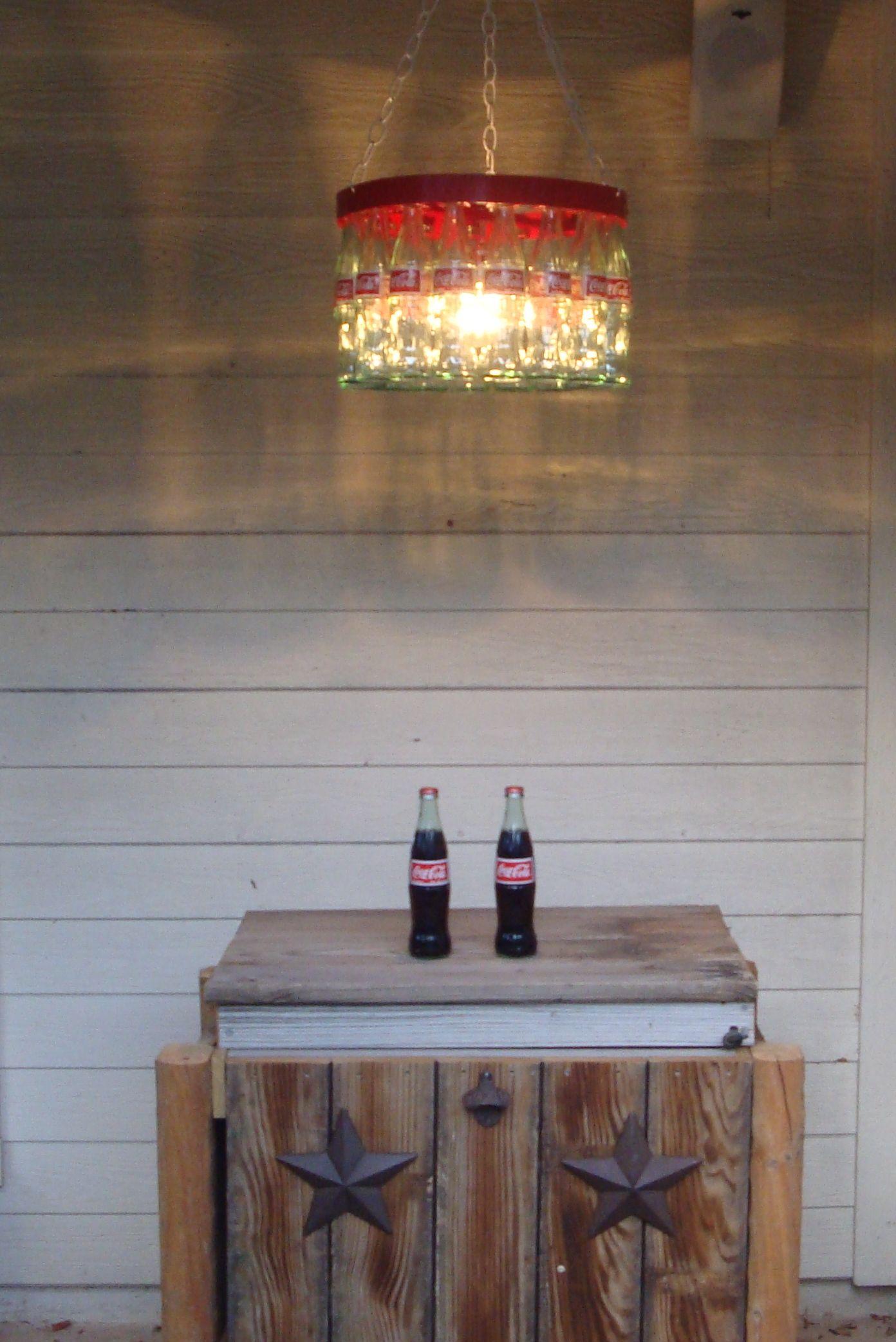 Coke bottle chandelier coke photo tomb sweet tomb pinterest coke bottle chandelier coke photo arubaitofo Images