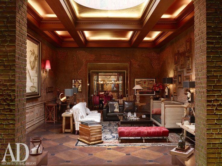 The Main Living Room Of Mannat Gauri And Shah Rukh Khan S Mumbai
