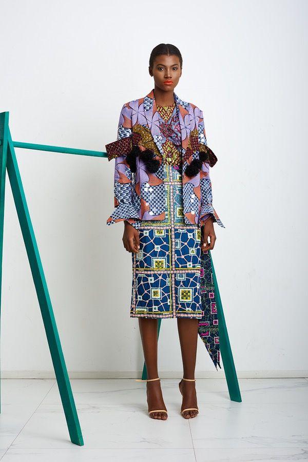 Lisa Folawiyo Ready To Wear Autumn 2017 Look 9 Fashion African Fashion Fashion Design